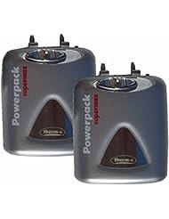 Therm-ic doté supermax powerpack (eU, uS), argent, 20 x 14,1 x 5,6 cm