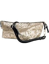 Vangoddy Reptilia série Sac à main Femme shopping bag modèle à dos en cuir écologique trame en bonneterie
