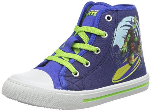 Turtles Jungen Boys Kids High Sneakers Top Blau (CBL/NAV/CBL 040)