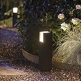 Philips Hue White Fuzo Sockelleuchte, schwarz | LED Außenleuchten für den Balkon, Terrasse &...