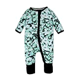 BIG ELEPHANT 1 Piece Baby Boys' Zip up Long Sleeve Romper Pajama O73