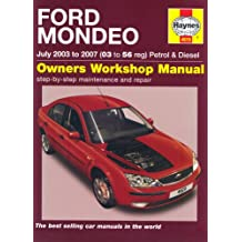 Ford Mondeo Petrol and Diesel Service and Repair Manual: 2003 to 2007