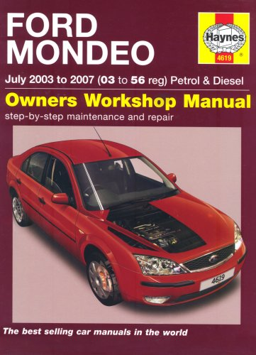 Ford Mondeo Petrol and Diesel Service and Repair Manual: 2003 to 2007 (Service & repair manuals) - Diesel Manual
