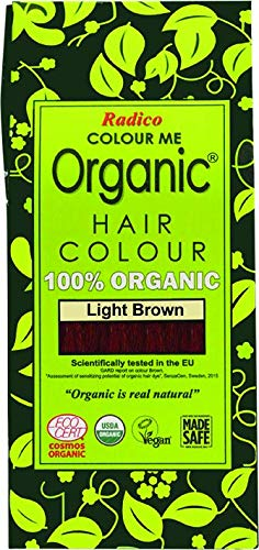 Radico Colour Me Organic Pflanzenhaarfarbe Hellbraun (bio, vegan, Naturkosmetik) Hellbraun