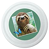 Graphics and More Faultier Selfie Bild Neuheit 22,9cm Flying Disc
