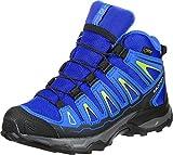 Salomon Unisex Kids' X-Ultra Mid GTX J Low Rise Hiking Boots, Blue, 36 EU