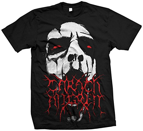 Authentic CARACH ANGREN Band Face Black Metal T-Shirt S M L XL 2XL NEW(Large)