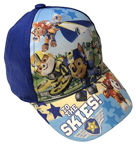 Paw Patrol Hunde Patrouille Cap Basecap Mütze Kinder Kappe Schirmmütze (52, dunkelblau)