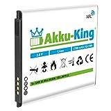 Akku-King Akku ersetzt Samsung EB-LIM7FLU - Li-Ion 1700mAh mit NFC - für Galaxy S3 Mini GT-I8190, S III Mini GT-I8190N, GT-I8190T, GT-I8200