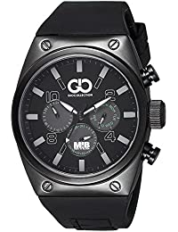 Gio Collection Analog Black Dial Men's Watch - AD-0044-D