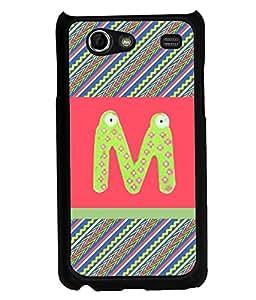 PrintVisa Metal Printed Alphabet Designer Back Case Cover for Samsung Galaxy S Advance I9499-D5055