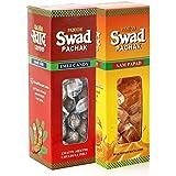 Panjon Swad Pachak Chulbuli Imli Tamarind Twist Candy & Aam Papad Mango Slice (Pack Of 2), 200 Gm
