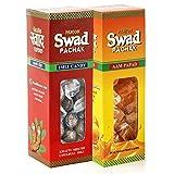 #5: Panjon Swad Pachak Chulbuli Imli Tamarind Candy and Aam Papad Mango Slice Candy, 100g (Pack of 2)
