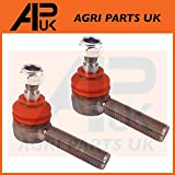 APUK 2 X Steering Tie Track Rod Ends Compatible with David Brown 1212 1290 1390 1394 1490 Tractor