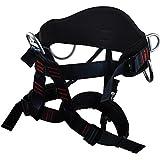 Newdoar Thicken Wider Climbing Harness Newdoar Women Man Child Half Body Safe Seat Belts For Mountaineering Rock Climbing Rappelling Gear