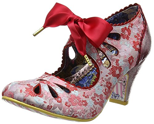 Irregular Choice Sugar Plum, Escarpins femme Red (Red)
