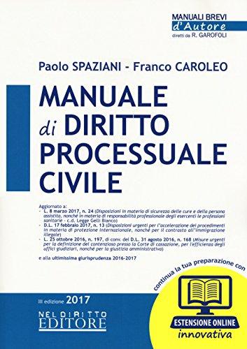 Manuale di diritto processuale civile. Con Contenuto digitale (fornito elettronicamente)