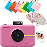 Polaroid SNAP Touch 2.0 13MP Portable Digital Instant Camera with LCD Touch Screen Display, Zink Zero Ink Prints 2x3, Rosa