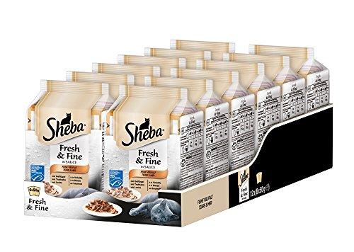Sheba Fresh & Fine - Nassfutter für Katzen - Im extra kleinen Portionsbeutel - für mehr Variation und Frische