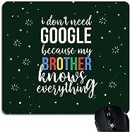 YaYa Cafe Combo of Birthday, Google Brother Mousepad for Men/Boys