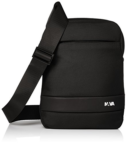 NAVA Slim Bag - Tracollina porta IPad mini nero