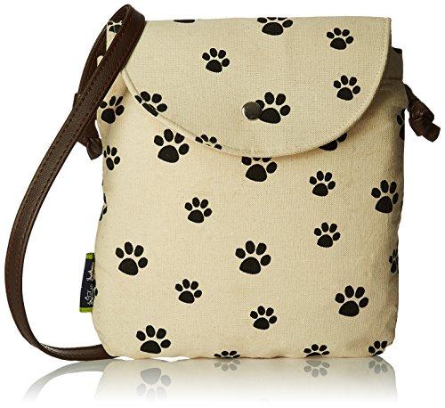 Kanvas Katha Women\'s Handbag (Ecru) (KKSNPB001)