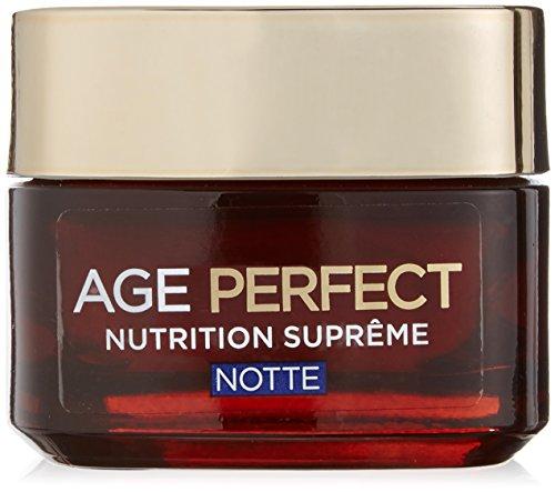 L'Oréal Paris Age Perfect Nutrition Supreme Crema Viso Riparatore Notte, 50 ml