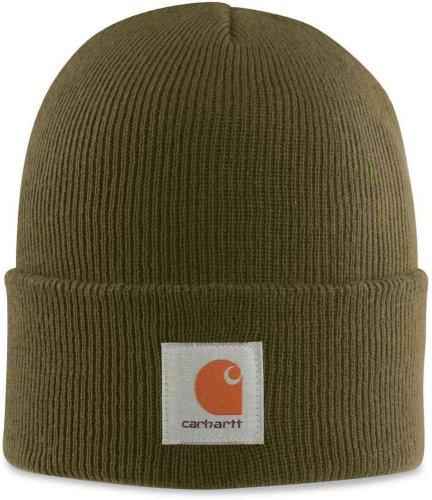 Carhartt A18 Acrilico Guarda Hat Beanie Cappello-16 (Rib Cap)