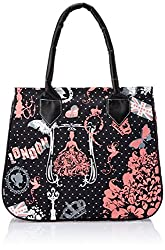 Kanvas Katha Womens Handbag (Black) (KKHB005B)