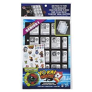 Yokai Watch Páginas coleccionables para albúm de medallas, versión multilingüe (Hasbro B7499105)