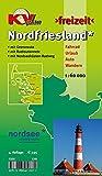 Nordfriesland Kreis mit Sylt, Amrum, Föhr und Halligen: Freizeitkarte in 1:60.000 mit neuem Radroutennetz, mit Wikinger-Friesen-Weg, mit ... / http://www.kv-plan.de/reihen.html)