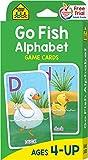 Go Fish Alphabet Game Cards: Game Cards