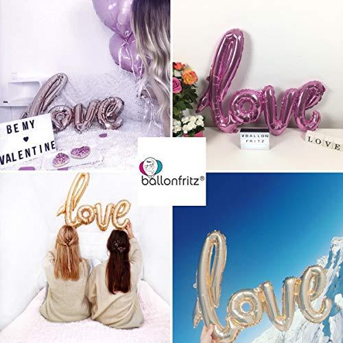 "XXL Folienballon ""LOVE"" roségold - 5"