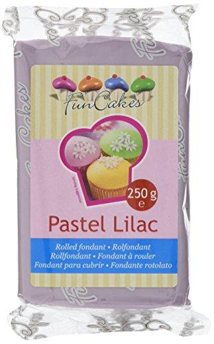 FunCakes Fondant -Pastel Lilac, 4er Pack (4 x 250 g)