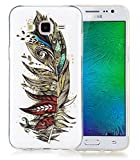 Nnopbeclik Für Samsung Galaxy J7 2015 SM-J700F Silikon Hülle, Durchsichtig Leuchtend TPU Clear...