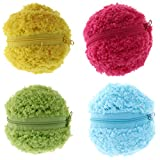 Prettyia Automatic Vacuum Floor Sweeping Robot Cleaner Microfiber Ball Cleaning Cover