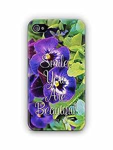 YuBingo Smile. You are Beautiful Designer Mobile Case Back Cover for Apple iPhone 4S