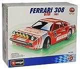 Ferrari 308 Gtb Rot Bausatz Kit 1/24 Bburago Burago Modellauto Modell Auto SondeRangebot