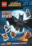 LEGO® DC Comics Super Heroes: Batman Ready, Steady, Stick! (Sticker Activity Book)