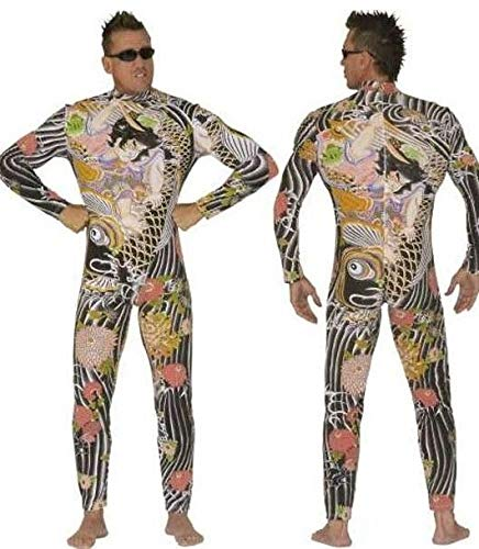 Full corpo jumpsuit costume tattoo, 'Yakuza'. ' Dimensioni: L '