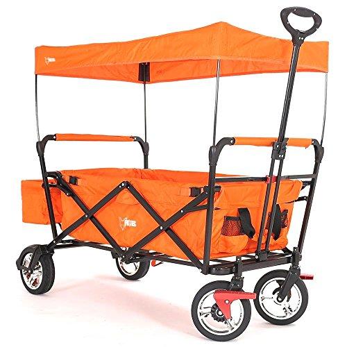 FUXTEC CT-500 Orange Bollerwagen