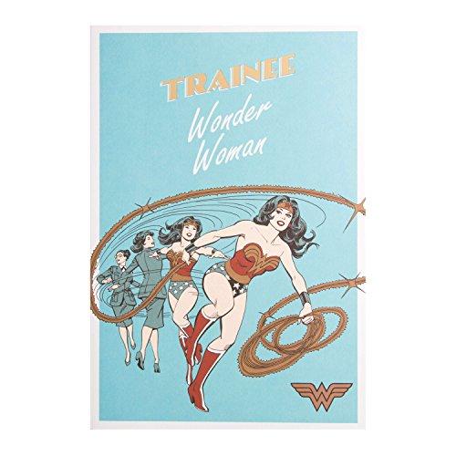 "Geburtstagskarte öffnen Wonder Woman""Trainee Wonder Woman DC Comics Warner Bros"