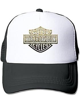 maneg Harley Logo Funny Trucker gorro con malla talla única (en 5colores) tapas