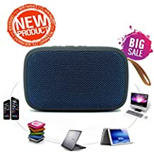 Oddin General Mobile GM 6 Bluetooth Wireless Speaker with FM Radio, Memory Card and Pen Drive Slot