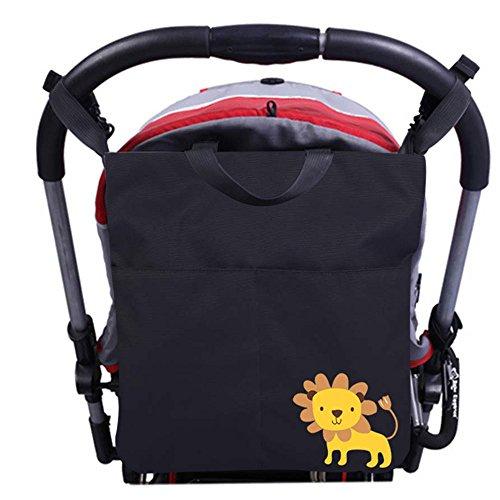 Preisvergleich Produktbild Kinderwagentaschen, Aresko Kinderwagen Organizer Multifunktions Wasserdichte Tasche