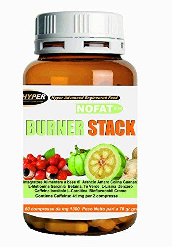 Perdere Peso Grasso Velocemente Termogenico Brucia Grassi Forte | Burner stack 60 compresse | brucia grassi potente e veloce | potente dimagrante | 14 principi attivi contro il grasso