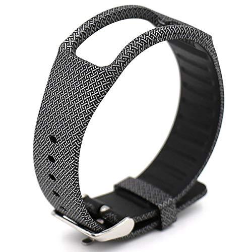 Elespoto di Gomma Base Band Strap Fascia da Braccio per Samsung Galaxy Gear Fit R350 (Cross)