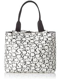 Calvin Klein Is4 Large Reversible Tote, Bolsa para Mujer, Negro (Ck Print), 32.5x0.52x30 cm (W x H x L)