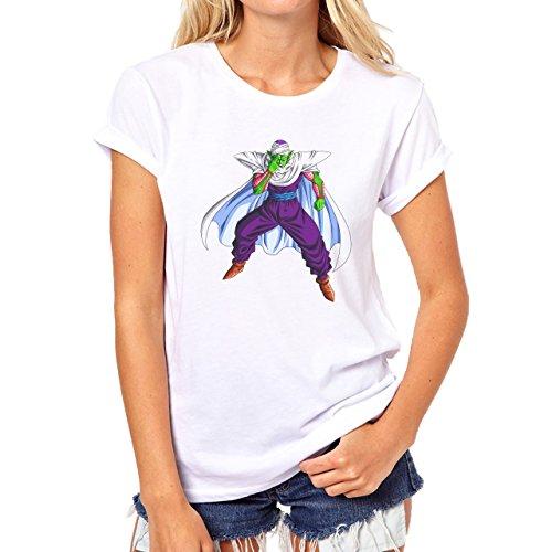 Dragon Ball Z Piccolo Fight Mode Damen T-Shirt Weiß