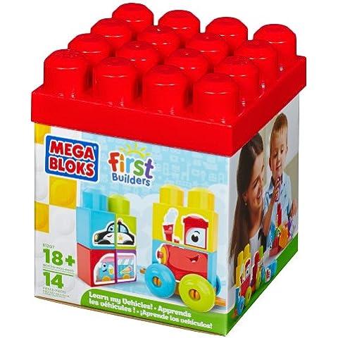 First Builders - Mega box aprendizaje vehículos (Mega Brands 81207)
